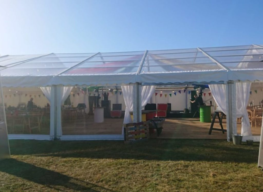 Full Panoramic Party Marquee