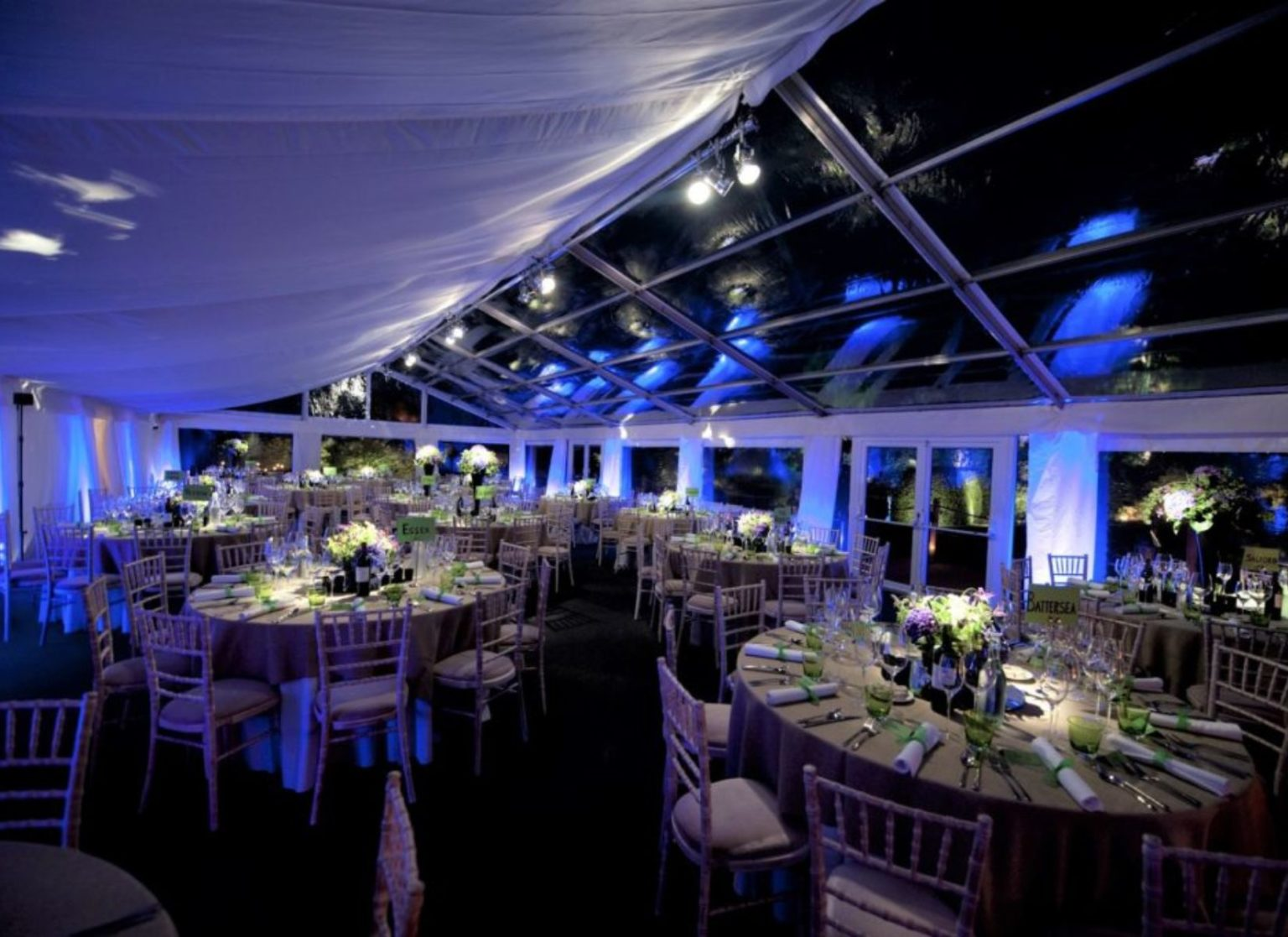 Part Cleaspan Wedding Marquee
