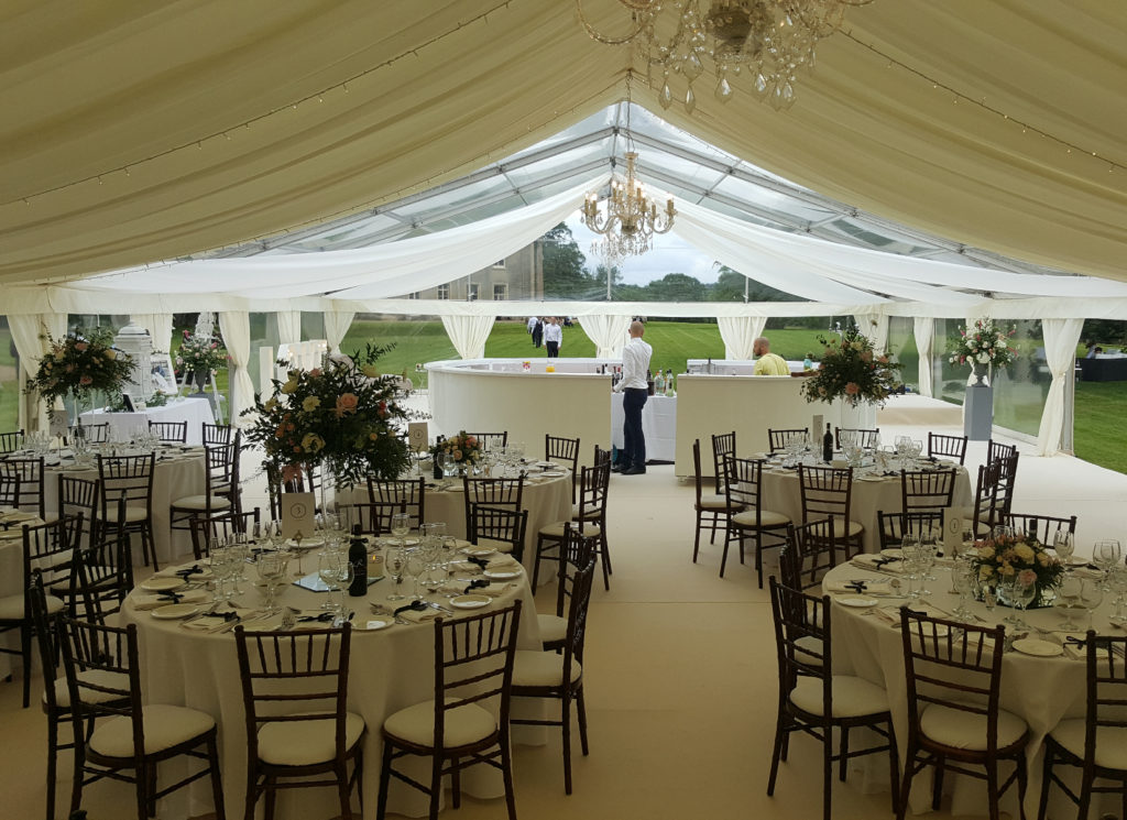 Part Panoramic Marquee Wedding
